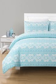 URBANE HOME Sarah Polyester Cotton Quilt Cover Set QB