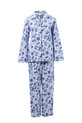 SASH & ROSE FLANNELETTE PJ SET, BLUE, S