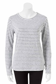 BONDS womens long sleeve textured knit
