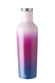 SMITH & NOBEL SMART SHAPE STAINLESS STEEL BOTTLE 450ML PURPLE IRRIDESCENT